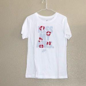 "Nike Tee Shirt ""Kiss My Airs"""